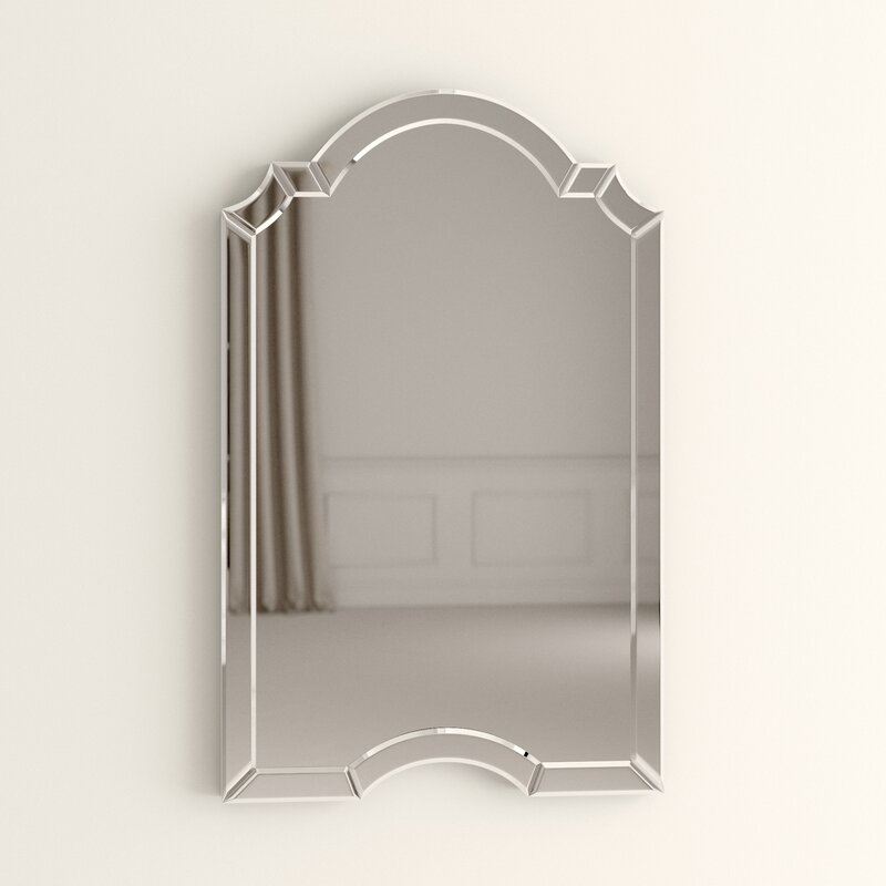 Ekaterina Arch Crowned Top Wall Mirror Reviews Joss Main