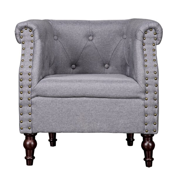 Luzerne Contemporary Armchair by Charlton Home