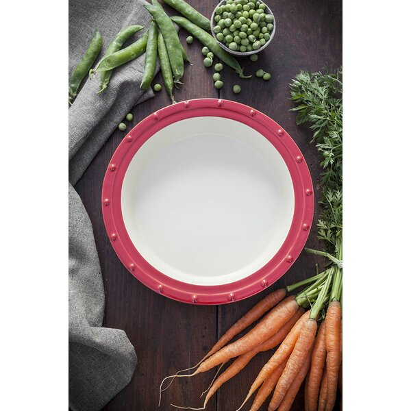 Ceramic Deep Dish Pie Pan by Fornetto