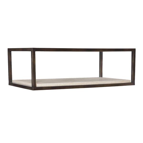 Kinsley Floor Shelf Coffee Table By Bernhardt