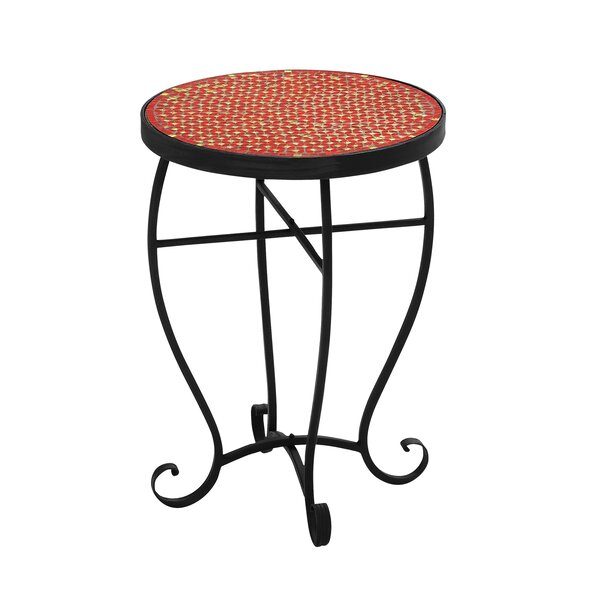 Moroccan Mosaic End Table by Urban Designs