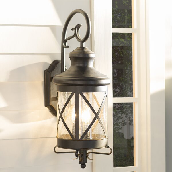 Fairbury Outdoor Wall Lantern By Three Posts