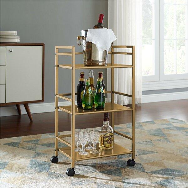 Helix Bar Cart by Novogratz