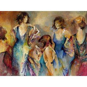 Divine Secrets Painting Print on Wrapped Canvas by Portfolio Canvas Decor