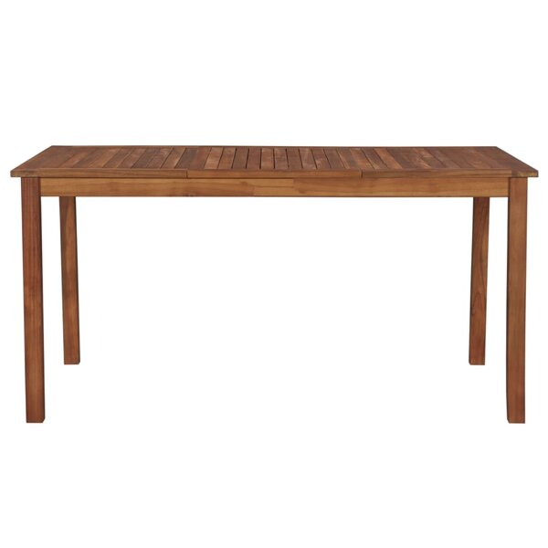 Shorehamby Wooden Dining Table by Sol 72 Outdoor