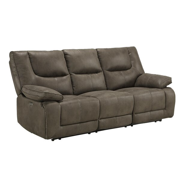 Tilghman Genuine Leather Reclining 87