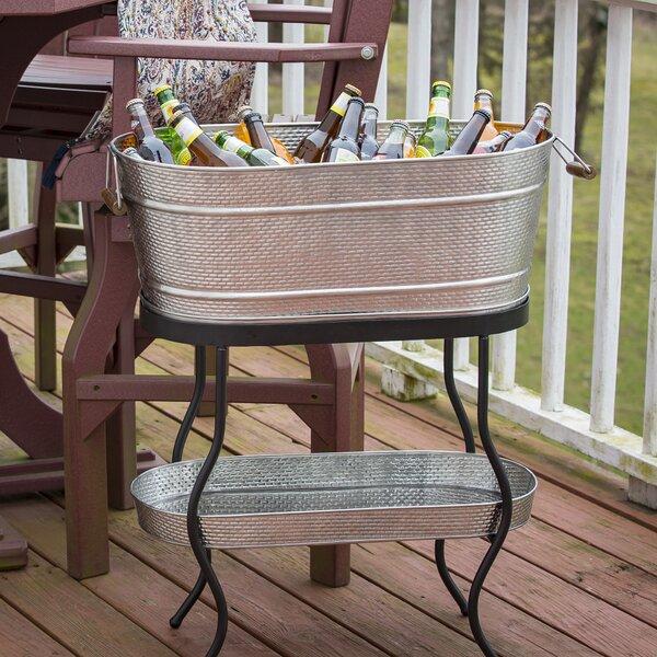 Brickhouse Beverage Tub Set By Tablecraft.