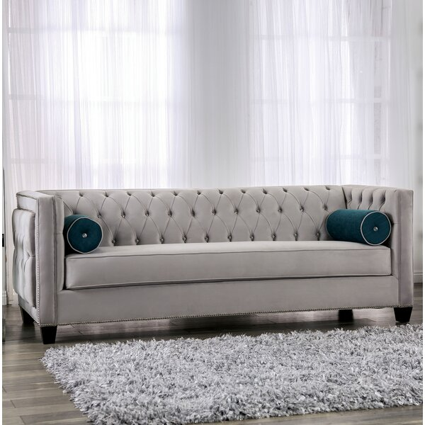 Fannie Tufted Sofa by House of Hampton