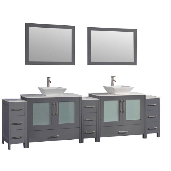 Powley 106 Double Bathroom Vanity Set