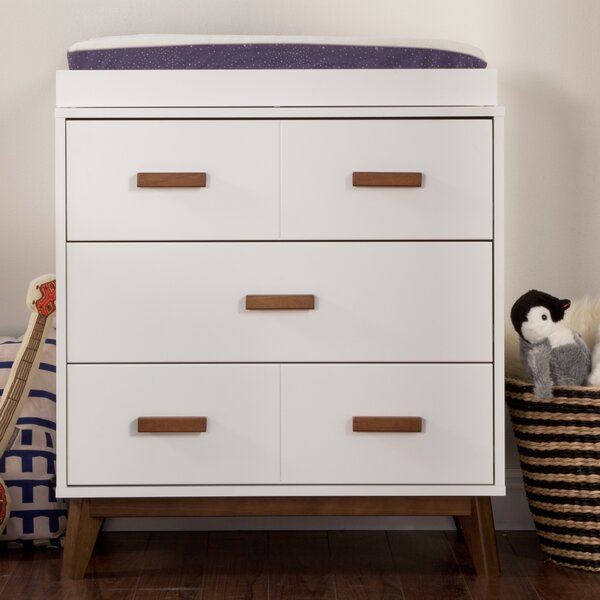 Scoot 3 Drawer Changing Dresser by babyletto