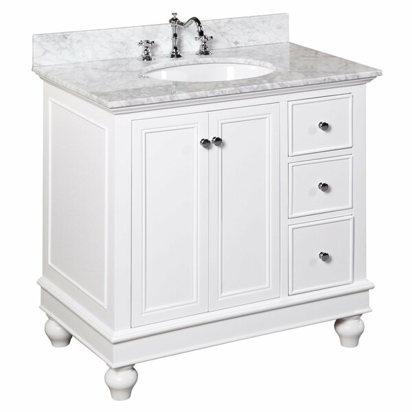Bella 36 Single Bathroom Vanity Set by Kitchen Bath Collection