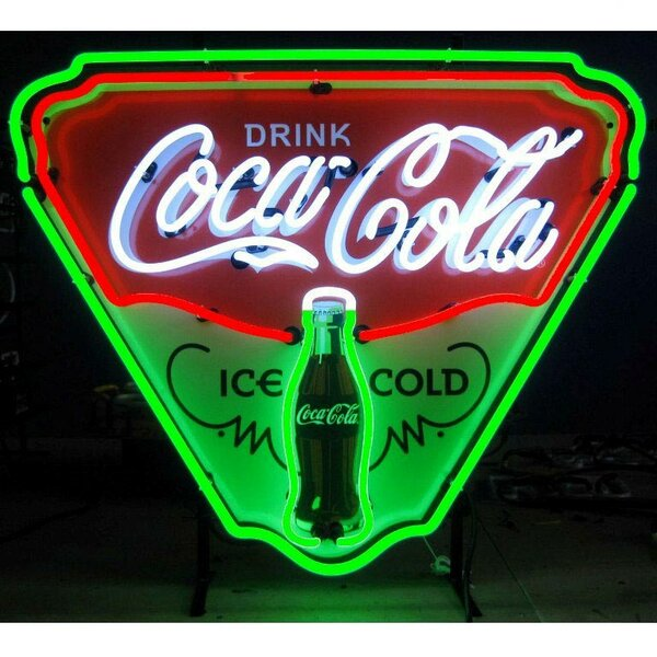 Coca-Cola Ice Cold Shield Neon Sign by Neonetics