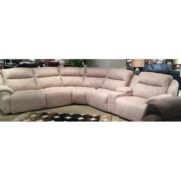 Five Star Reversible Reclining  Sectional by Southern Motion