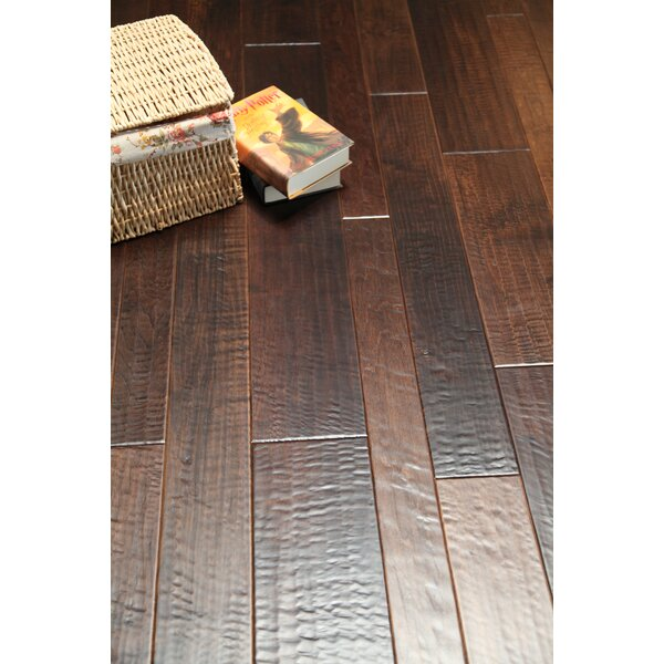 Dark 3-1/2 Solid Walnut Hardwood Flooring in Walnut by Alston Inc.