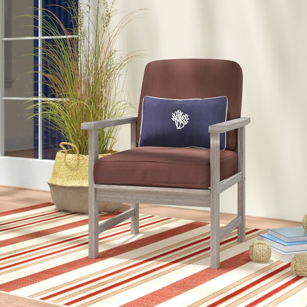 Englewood Patio Chair with Cushions (Set of 2) by Beachcrest Home