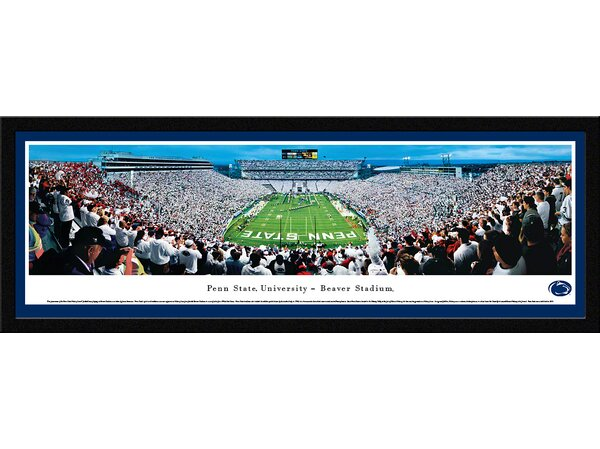 NCAA Penn State University - End Zone by James Simmons by Blakeway Worldwide Panoramas, Inc