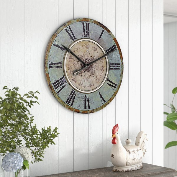 Kenn Round 29 Wall Clock by One Allium Way