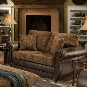 Edison Park Loveseat by Brady Furniture Industries