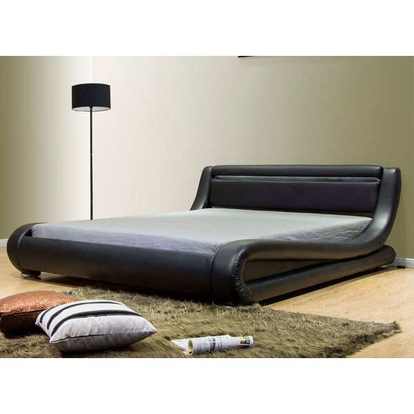 Jarin Contemporary Upholstered Platform Bed by Orren Ellis