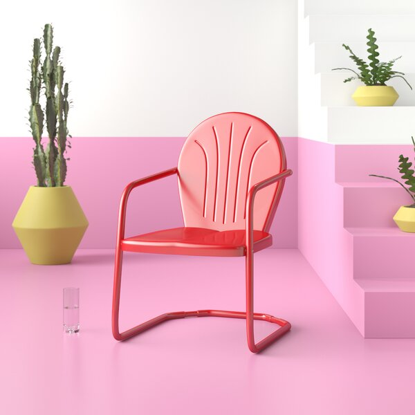 Dunaway Metal Outdoor Chair by Hashtag Home