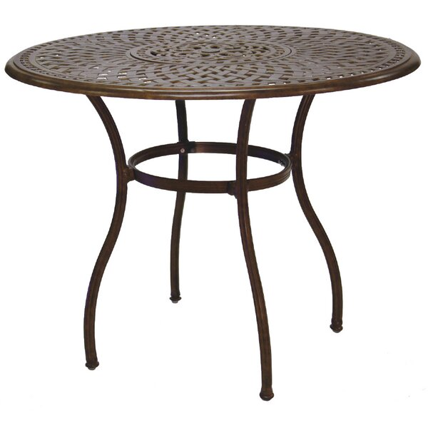 Fairmont Metal Bar Table by Astoria Grand Astoria Grand