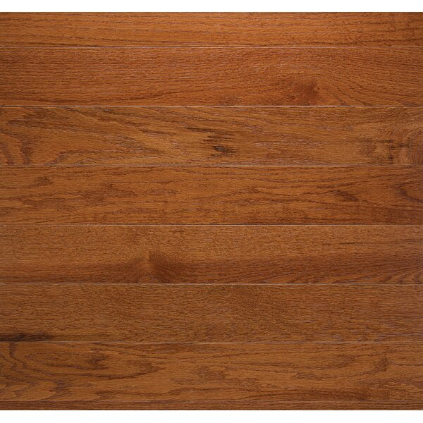 Classic 3-1/4 Solid Oak Hardwood Flooring in Gunstock by Somerset Floors