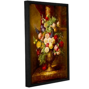 'Reaissance Flowers' Framed Painting Print by Fleur De Lis Living