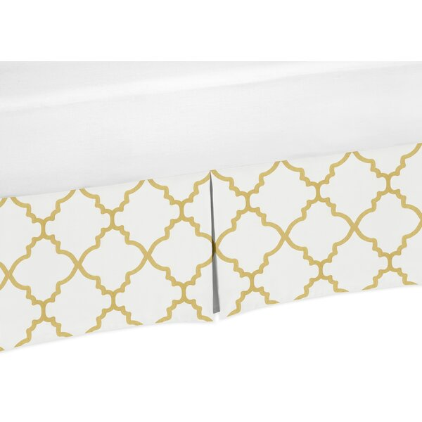Trellis Toddler Bed Skirt by Sweet Jojo Designs