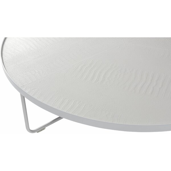 Gunnarr Abstract Coffee Table By Orren Ellis