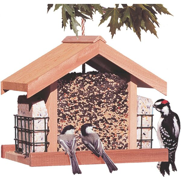 Deluxe Chalet Suet Bird Feeder by Woodstream Wildb