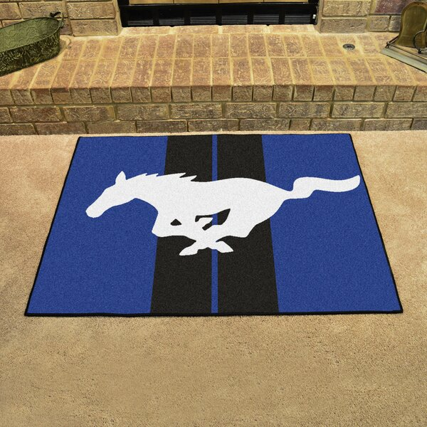 Ford - Mustang Horse Doormat by FANMATS