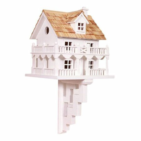 Classic Series Novelty Cottage 11 in x 10 in x 9 in Birdhouse by Home Bazaar