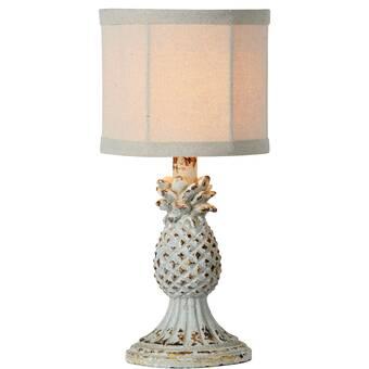 August Grove Hakes Small Clay Jug 23 Table Lamp Wayfair