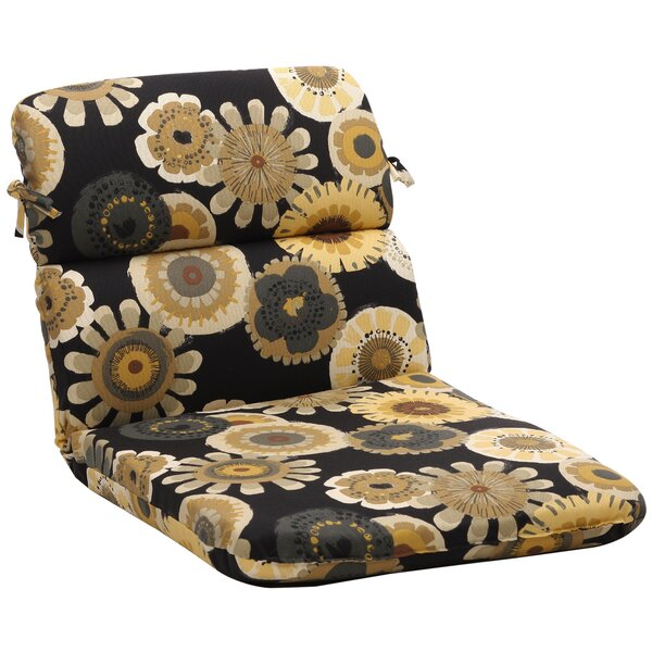 Indoor/Outdoor Dining Chair Cushion by Pillow Perfect