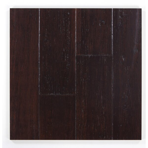 5 Engineered Bamboo Flooring in Blackened Hickory by Bamboo Hardwoods