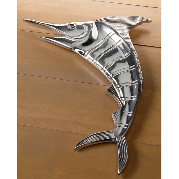 Casted Aluminum Marlin Platter by Kindwer