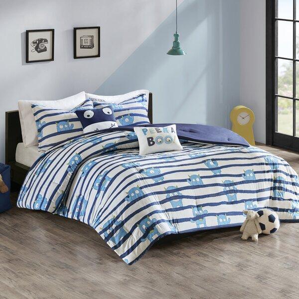Lambeth Printed Comforter Set by Zoomie Kids