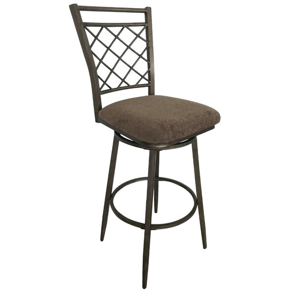 Cruse Swivel Bar Stool (Set of 2) by Fleur De Lis Living
