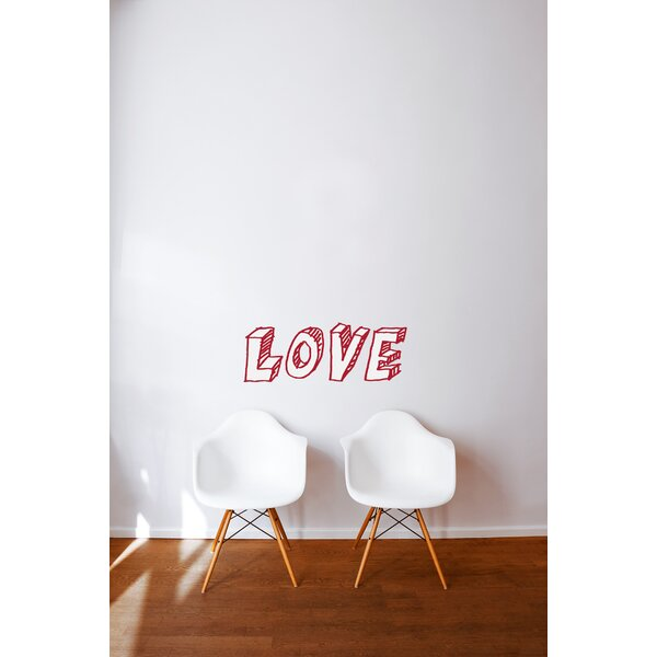 Mia & Co Love Wall Decal by ADZif