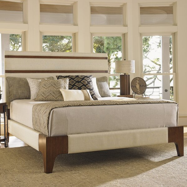 Island Fusion Upholstered Panel Bed by Tommy Bahama Home