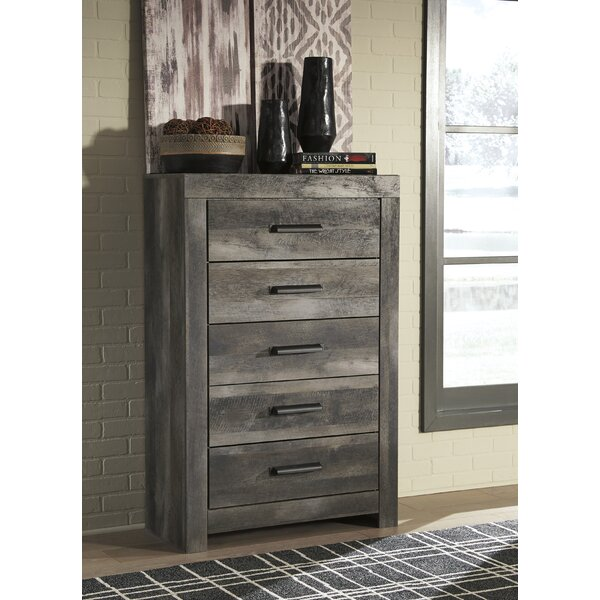 Theiss 5 Drawer Chest by Gracie Oaks