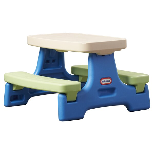 Easy Store Jr. Kids Picnic Table by Little Tikes
