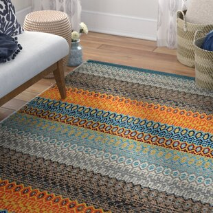 Saffron Handmade Kilim Cotton Orange Rug