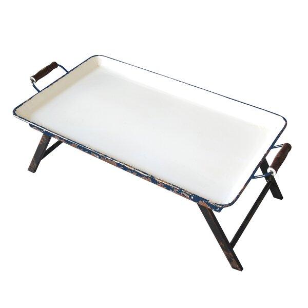 Staunton Metal Rectangular Tray Table by Laurel Foundry Modern Farmhouse
