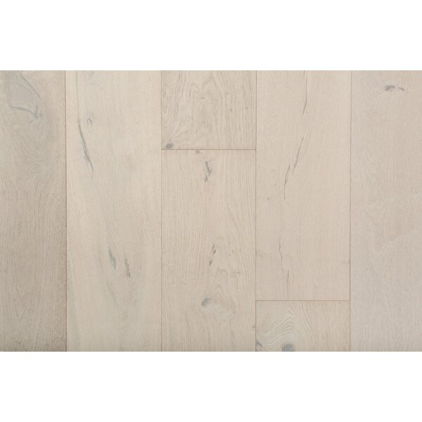 Friendship 7-1/2 Engineered Oak Hardwood Flooring in Whitewash by GoHaus