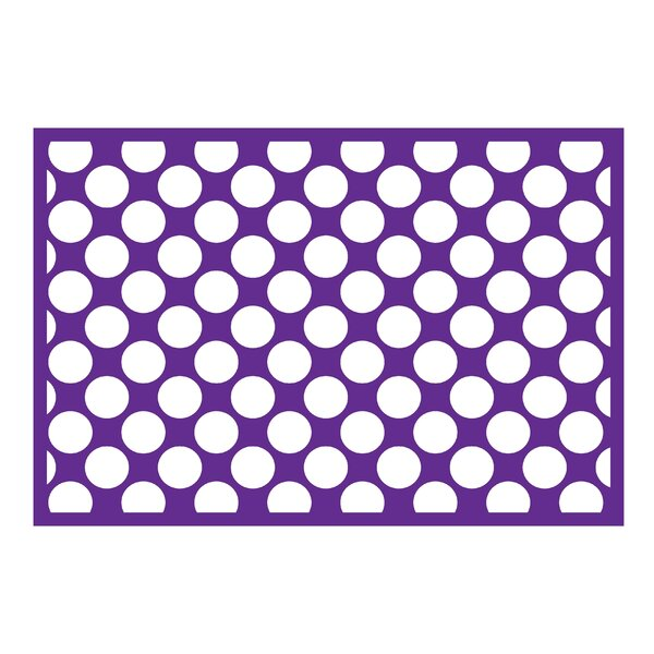 Mix N Match Purple Area Rug by Bacati