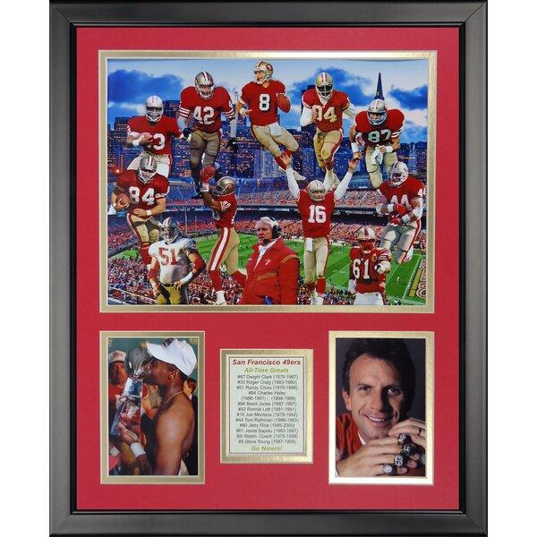 NFL San Francisco 49ers - 49er Greats Framed Memorabili by Legends Never Die