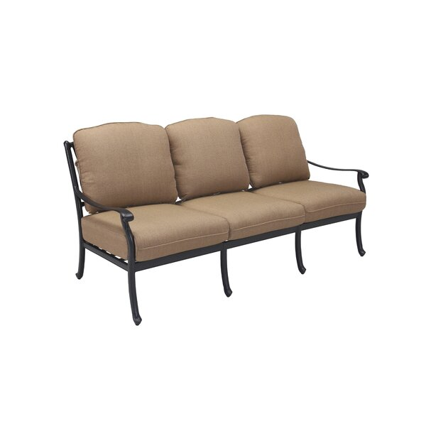 Cardin Patio Sofa with Cushions by Darby Home Co