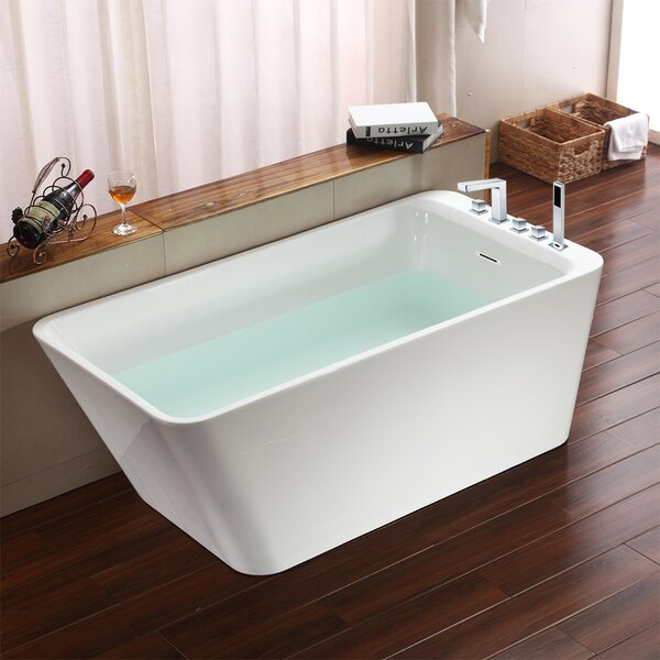 Missouri 67 x 30 Freestanding Soaking Bathtub by Jade Bath