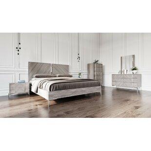 labombard modern 5 piece platform bedroom set - Bedroom Sets